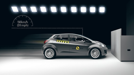 Euro NCAP | Full Width Rigid Barrier