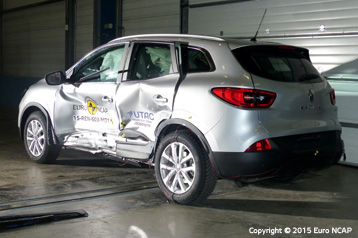 Official Renault Kadjar 2015 Safety Rating