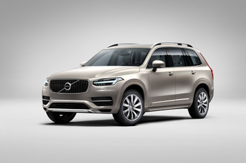 official volvo xc90 2015 safety rating