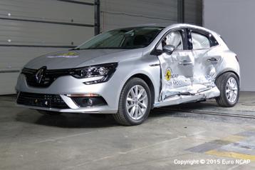 Offizielle Sicherheitsbewertung Renault Megane 2015