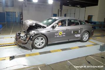 Résultats officiels de l'évaluation de la sécurité de la Renault Talisman 2015
