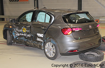 Official Fiat Tipo 2016 safety rating
