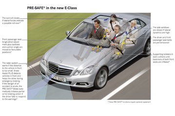 euro ncap euro ncap advanced rewards pre crash mercedes benz pre safe 2010. Black Bedroom Furniture Sets. Home Design Ideas