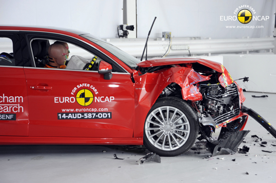 Official Audi A3 Sportback E Tron 2014 Safety Rating Results