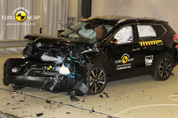 Official Nissan X Trail 2014 safety rating results