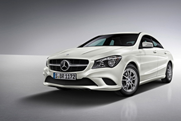 Official mercedes benz cla class 2013 safety rating results for 2013 mercedes benz cla class