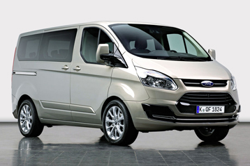 Official Ford Transit Custom 2012 Safety Rating Results