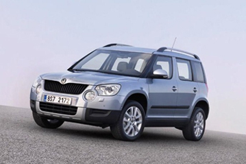 r sultats officiels de l 39 valuation de la s curit de la l 39 skoda yeti 2009. Black Bedroom Furniture Sets. Home Design Ideas