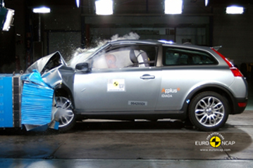 Official Volvo C30 2009 Safety Rating Results
